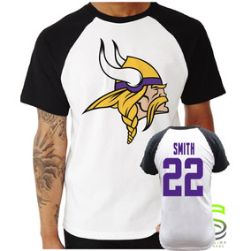 6d4aad757d Camisa Minnesota Vikings - Camisetas e Blusas Manga Curta no Mercado ...