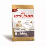 Ração Royal Canin Bulldog Junior Filhote 12kg