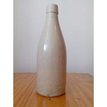Botella-porron Cerveza Antigua Ceramica Gres