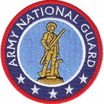 Guardia Nacional Armada Usa Parche Bordado Militar