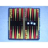 Backgammon Juego Portátil Magnético 21x21 C Caja Unico Dueño