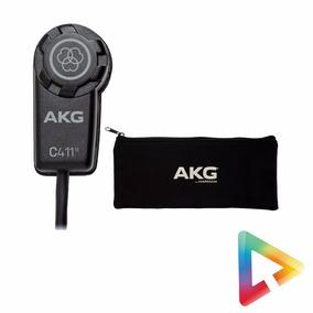 Microfone Condensador De Contato Akg C411l - Hl Infomusic