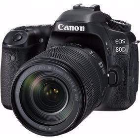 Reflex Canon 80d Kit 18-135 Usm Sd 16 Cordoba Fact A O B