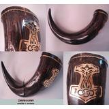 Cuernos Vikingos Para Beber Cerveza Personalizados