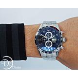 Reloj Tag Heuer Carrera Calibre 16 Metal En Negro