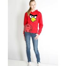 Blusa Angry Birds Moletom Canguru A Melhor Do Mercado!!