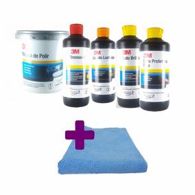 Kit Polimento Cristalização Espelhamento 3m