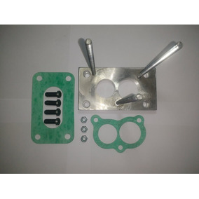 Base Para Adaptar Carburador 2e / 3e Solex Brosol