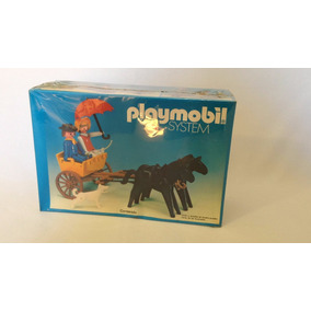Playmobil Velho Oeste Charrete Amarela Rara 3749 Cx Lacrada!