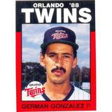 Barajita Germán González Minnesota Twins # 17
