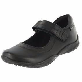 Zapato Escolar Para Niña Coqueta En Piel