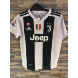 Camiseta Juventus 2018 Ronaldo /dybala Niños