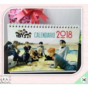 Calendario De Escritorio Bts 2018 Kpop