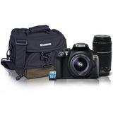 Canon Rebel T6 Kit Maleta Memoria 2 Lentes 18 55 Y 75 300