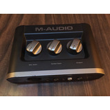 M Audio Fast Track, Tarjeta De Audio