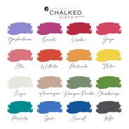 Pintalatte Chalked / Pintura De Tiza Chalk Paint - 6 X 170cc