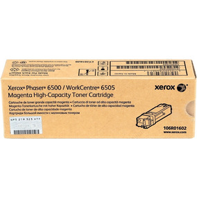 Workcentre 6505 Ph 6500 Xerox Toner Magenta No. 106r01602