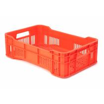 Caja De Plástico / Walterino Mediana Calada / Med: 51x34x14h