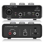 Placa Behringer Um2 Usb U-phoria Interface