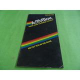 Catálogo De Jogos Original Atari 2600 Manual