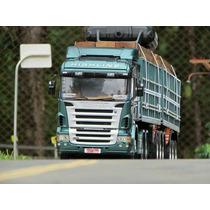 Rc Caminhão Tamiya 1/14 - Scania R620 Completo + Carretas