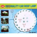 Linterna Lámpara Led 4+20 Camping Carro Bote Techo