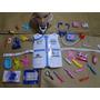 Mega Kit Fantasia Infantil Medico Doutor Enfermeira Colete