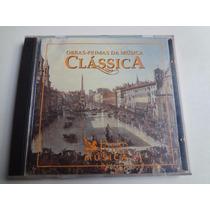 Cd Obras-primas Da Musica Clássica Cd - 1 - 2 Duplo