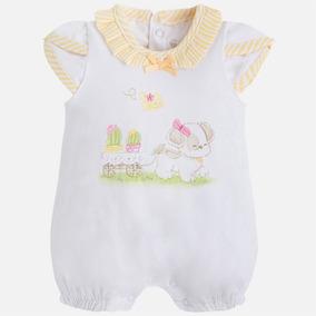 Pañalero De Vestir Marca Mayoral Para Bebé Recién Nacida