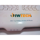 Roteador Ap Wifi Oiwtech 802.11g 54mbps (s/ Fonte E Antena)