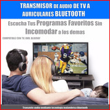 Transmisor Emisor Bluetooth - Escucha Tu Tv En Audifonos!!