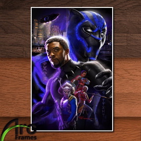 Placa Decorativa - Mdf - Pantera Negra Filme