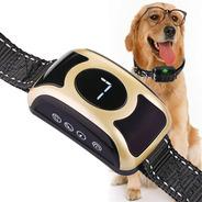 Collar Antiladrido Perros Estática Anti Ladrido Recargable