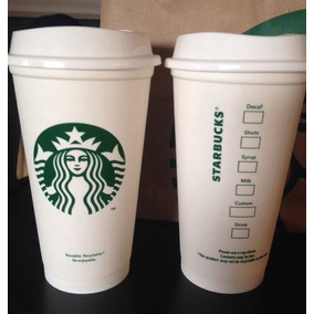Copo Plástico Starbucks Original Reutilizável Tampa 355ml
