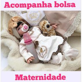 Bebe Reborn Realista Princesa