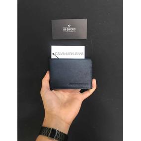 1a8a0f0fd3e98 Carteira Calvin Klein Jeans Croco Preta Original - Carteiras ...