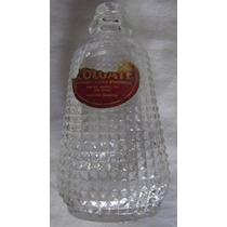 Embalagem Em Vidro Antigo Óleo Colgate - A16