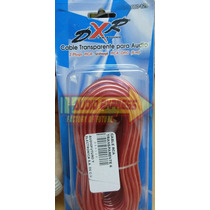Cable Rca Transparente 6 Metros Dxr080129