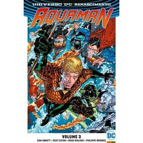 Encadernado Aquaman Renascimento 3 Lacrado
