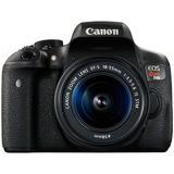 Camara Canon Eos Rebel T6i 24.2 Mpx Negro