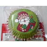 Capacillos Navideños Para Cupcakes-ponques (50 Unid)