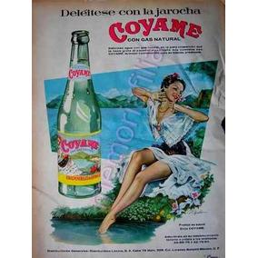Publicidad Antigua Agua Mineral Coyame 1958