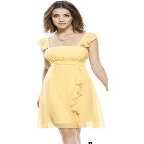 Vestidos amarillos cortos bogota