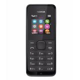 Telefono Nokia Modelo 105 Doble Sim Liberado Camara Mp3