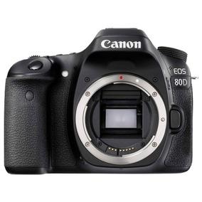 Câmera Canon Eos 80d Corpo Nf-e Garantia 1 Ano