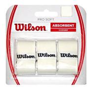 Wilson Pro Soft Overgrip Blister X 3 Cubregrip P/ Raqueta Tenis Baires Deportes Local Distr Oficial En Oeste Gran Bs As