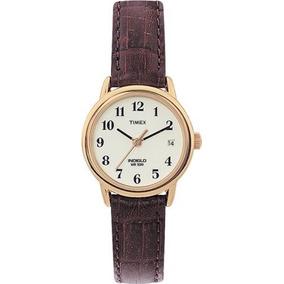 87893f504625 Timex Indiglo Water Resist 50m Correa Piel Original Nuevo - Reloj ...