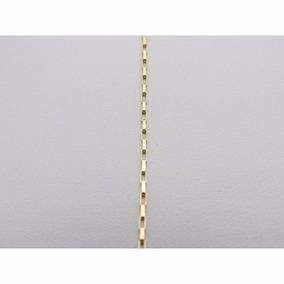 Cordão Corrente Feminina Modelo Cartier De 50 Cm Em Ouro 18k