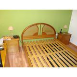 Juego Dormitorio Roble Macizo (muy Buen Estado)