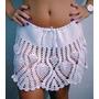 Tejidos Artesanales A Crochet: Minifalda Calada - Playa!